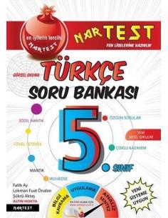 Nartest 5. Sınıf Süper Zeka Fen Liselerine Hazırlık Türkçe Soru Bankası