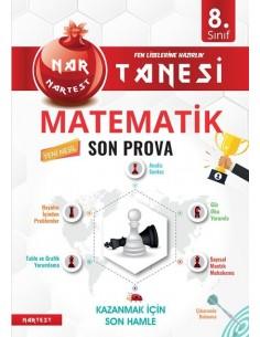 Nartest 8. Sınıf Nar Tanesi Son Prova Matematik Altın Sorular