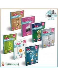 Tammat 11. Sınıf Tüm Dersler Soru Bankası Kampanyalı Set (7 Kitap)