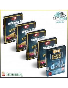 Tammat TYT AYT Matematik Geometri Soru Bankası Kampanyalı Set (5 Kitap)