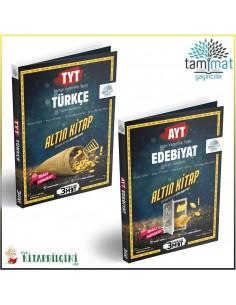 Tammat TYT AYT Türkçe Edebiyat Soru Bankası Kampanyalı Set (2 Kitap)