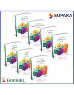 Supara 9. Sınıf Tüm Dersler Soru Bankası Kampanyalı Set (7 Kitap)