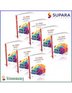 Supara 10. Sınıf Tüm Dersler Soru Bankası Kampanyalı Set (7 Kitap)