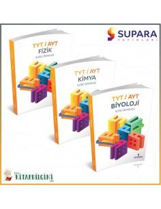 Supara TYT AYT Fen Bilimleri Soru Bankası Kampanyalı Set (3 Kitap)