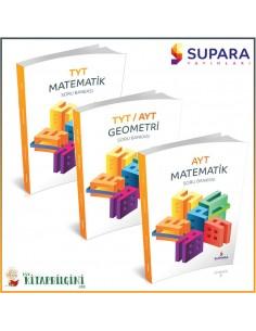 Supara TYT AYT Matematik Geometri Soru Bankası Kampanyalı Set (3 Kitap)