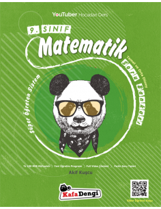 Kafadengi 9. Sınıf Süper Öğreten Matematik Soru Bankası