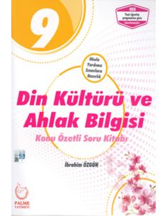 Palme Yayınları 9. Sınıf Din Kültürü Konu Özetli Soru Bankası