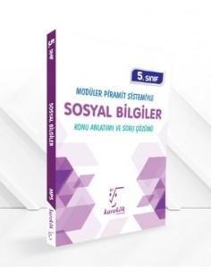 Karekök Yayınları Ortaokul 5.Sınıf Sosyal Bilgiler Modüler Piramit Sistemi