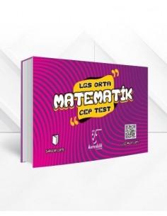 Karekök 8. Sınıf LGS Matematik Cep Test (Orta)