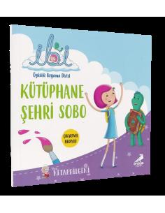 İbi Öykülü Boyama Dizisi – Kütüphane Şehri Sobo - Erdem Yayınları