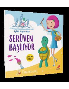İbi Öykülü Boyama Dizisi – Serüven Başlıyor - Erdem Yayınları