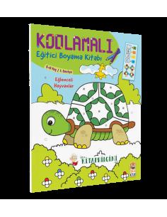 Kodlamalı Eğitici Boyama Kitabı - Eğlenceli Hayvanlar - Sincap Kitap
