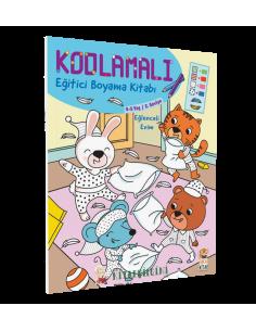 Kodlamalı Eğitici Boyama Kitabı - Eğlenceli Evim - Sincap Kitap