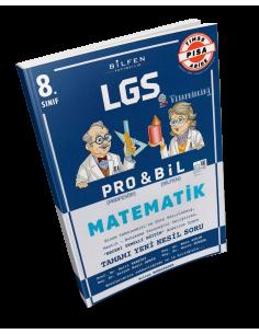 Bilfen Yayınları 8. Sınıf Matematik PROBİL Soru Bankası