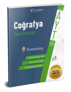 Bilfen Yayınları AYT Coğrafya Soru Bankası 2020