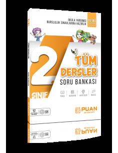Puan Yayınları 2. Sınıf Tüm Dersler Soru Bankası