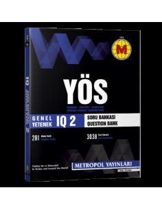 Metropol Yayınları YÖS IQ Soru Bankası 2