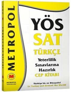 Metropol Yayınları YÖS Türkçe Cep Kitabı