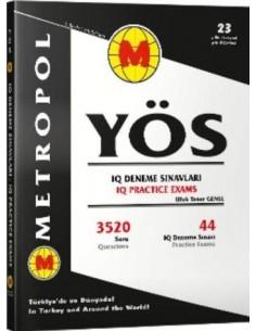 Metropol Yayınları YÖS IQ Deneme Sınavları