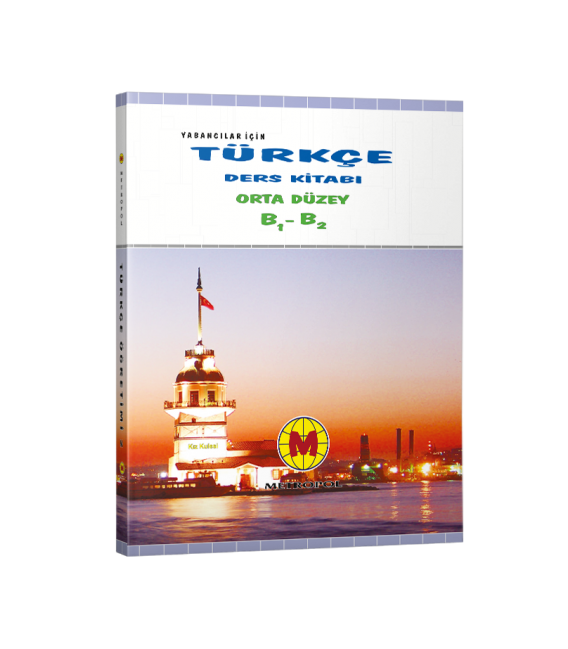 Metropol Yayınları TÖMER Yabancılar İçin Türkçe Öğretim Seti 2 B1 B2