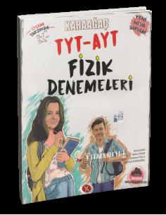 Karaağaç Yayınları TYT AYT Fizik Denemeleri
