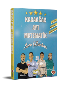Karaağaç Yayınları AYT Matematik Soru Bankası