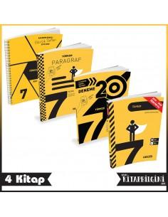Hız Yayınları 7. Sınıf Türkçe Kampanyalı Tam Set (4 Kitap)