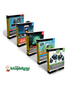 Mobil Programlama Uzmanlık Seti 2 (5 Kitap) - KODLAB