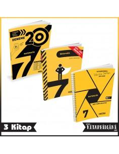 Hız Yayınları 7. Sınıf Matematik Kampanyalı Tam Set (3 Kitap)