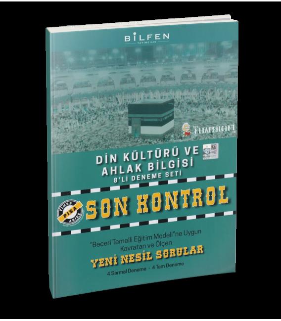 Bilfen Yayınları 8. Sınıf Din Kültürü Son Kontrol 8 Deneme