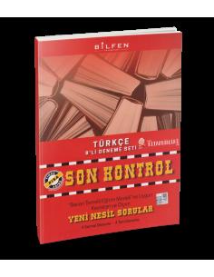 Bilfen Yayınları 8. Sınıf Türkçe Son Kontrol 8 Deneme