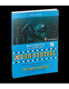Bilfen Yayınları 8. Sınıf Matematik Son Kontrol 8 Deneme