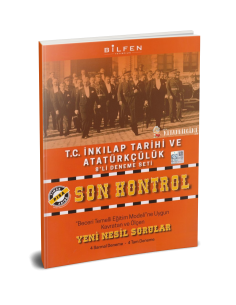 Bilfen Yayınları 8. Sınıf T.C. İnkılap Tarihi Son Kontrol 8 Deneme