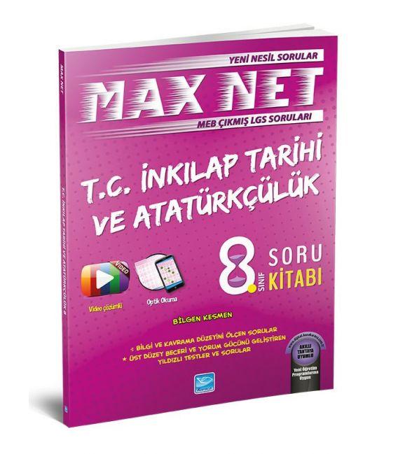 Koza Karaca Yayınları 8. Sınıf T.C. İnkılap Tarihi Max Net Soru Kitabı