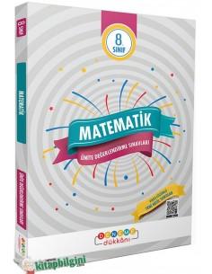 Deneme Dükkanı 8. Sınıf Matematik Ünite Değerlendirme Sınavları