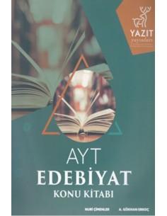 Yazıt Yayınları AYT Edebiyat Konu Anlatımlı