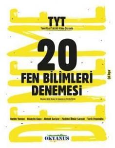 Okyanus Yayınları TYT 20 Fen Bilimleri Denemesi
