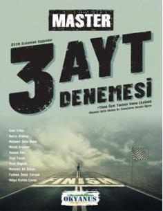 Okyanus Yayınları AYT Master 3 Deneme