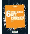 Okyanus Yayınları Sanki Gerçek 6 AYT Sayısal Denemesi