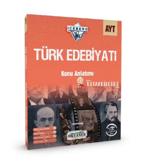 Okyanus Yayınları AYT Iceberg Türk Edebiyatı Konu Anlatımı