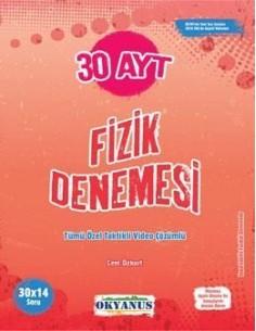 Okyanus Yayınları AYT 30 Fizik Denemesi