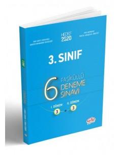 Editör Yayınları 3.Sınıf VİP 6 Adet Deneme Sınavı