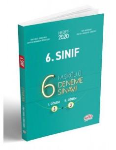 Editör Yayınları 6. Sınıf 6 Deneme Sınavı (Fasiküllü)