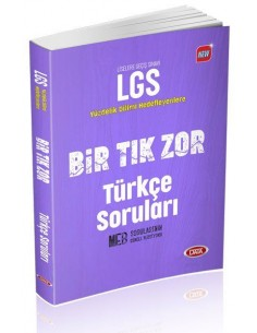 Data Yayınları LGS Bir Tık Zor Türkçe Soruları