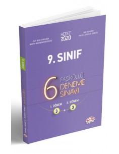 Editör Yayınları 9. Sınıf 6 (3+3) Deneme Sınavı