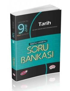 Editör 9. Sınıf VIP Tarih Özetli Lezzetli Soru Bankası