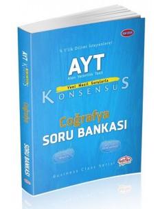 Editör Yayınları AYT Konsensüs Coğrafya Soru Bankası