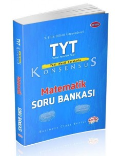 Editör Yayınları TYT Konsensüs Matematik Soru Bankası