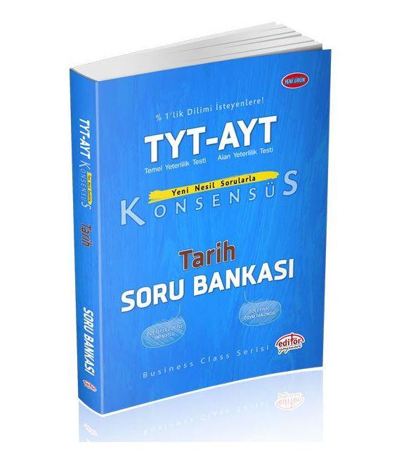 Editör Yayınları TYT-AYT Konsensüs Tarih Soru Bankası