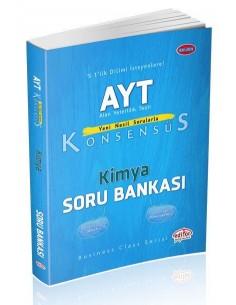 Editör Yayınları AYT Konsensüs Kimya Soru Bankası